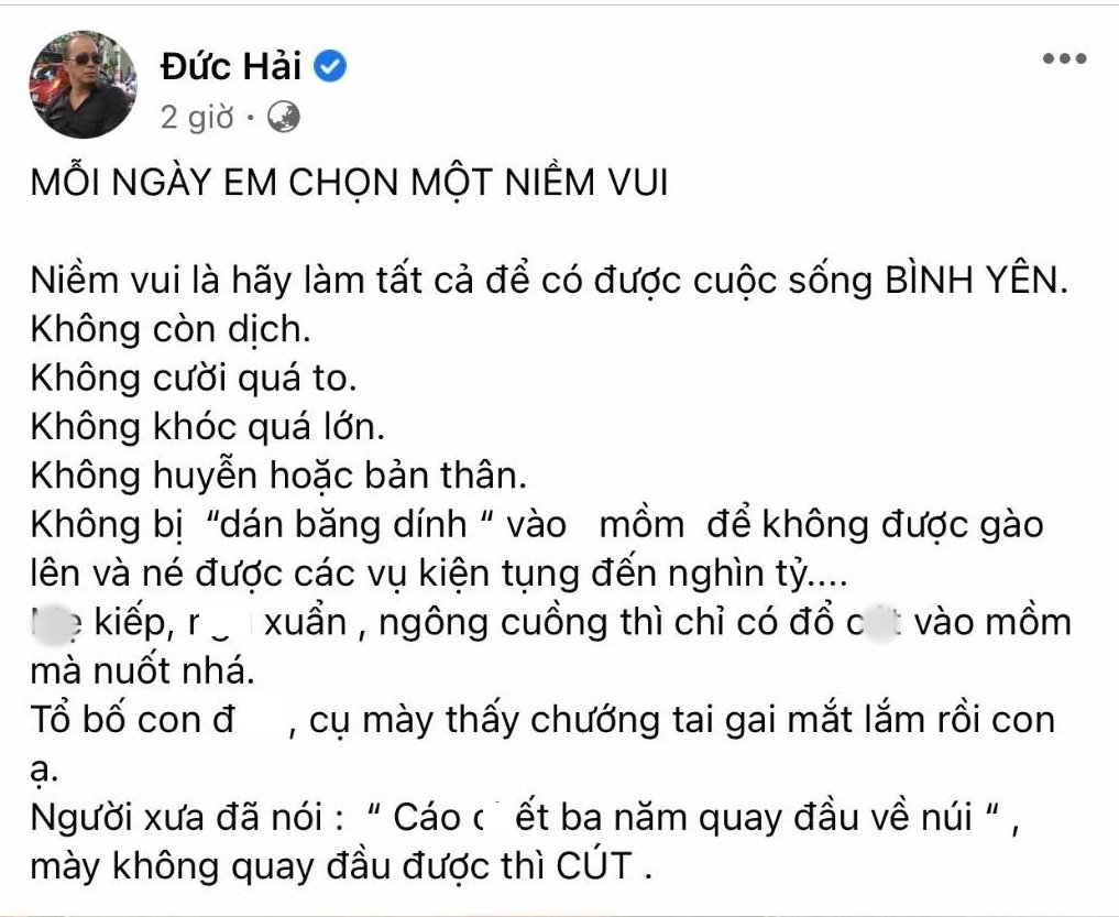 Thi Phi has not yet given up, artist Duc Hai suffers great consequences again related to the 'fishing rod' 1