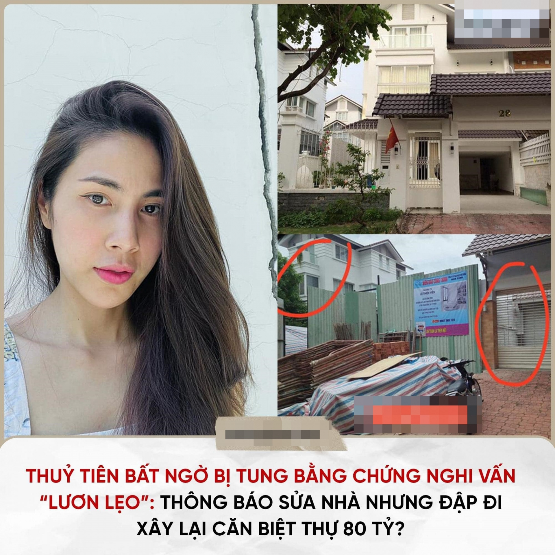 Thuy Tien spoke out against the suspicion of building a villa, showing off her real estate business with more than 40 billion pocket money