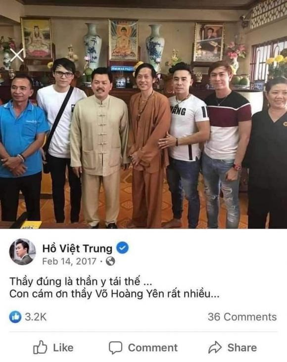 Vietnamese star news June 18: Phan Dinh Tung, Ho Viet Trung revealed photos of Vo Hoang Yen;  stirring up the chat group 'Vietnamese artist' 1