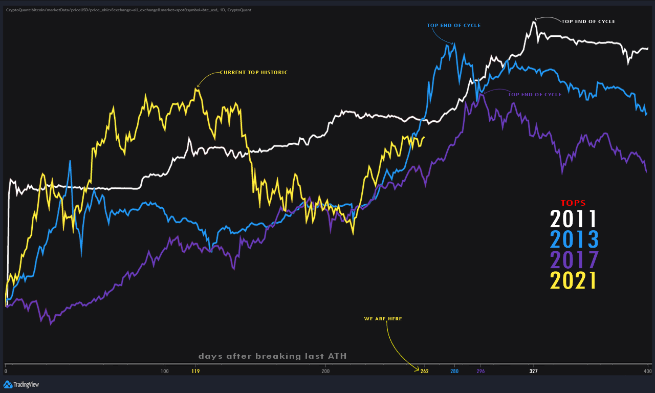 Quant explains why Bitcoin has not peaked in the current bull cycle