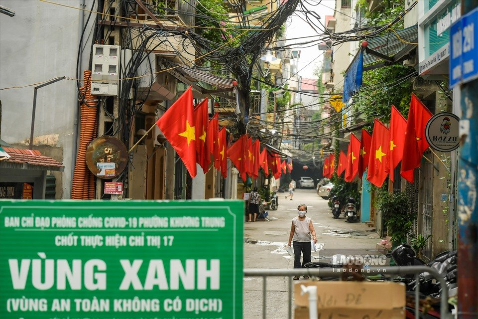 Hanoi does not apply road permits and divides into 3 zones after 6pm on September 21