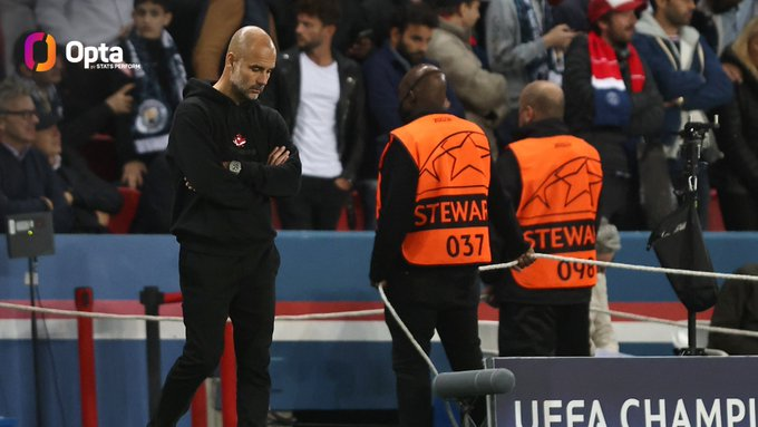 Scoring to beat Man City, Messi set another unprecedented record, Pep 'bowed' in admiration 2