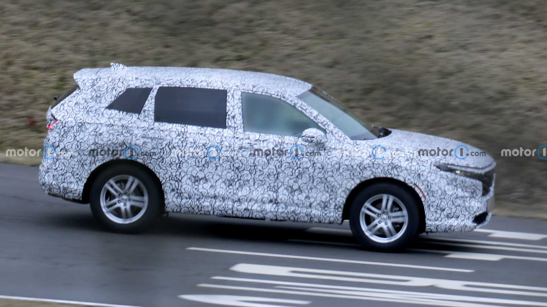 Continuing to leak information about Honda CR-V 2023: Strong change in appearance 4