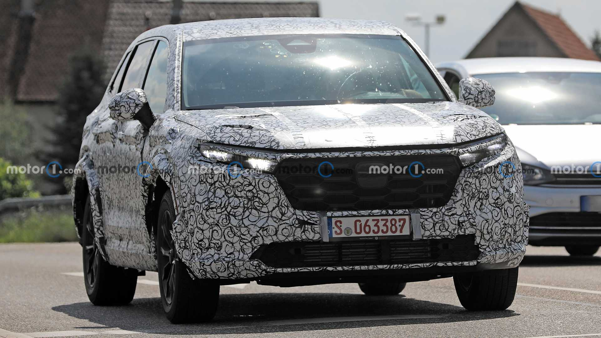 Continue to leak information about Honda CR-V 2023: Strong change in appearance 2