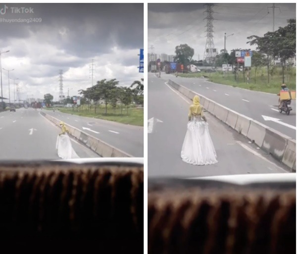 The mystery of the 'bride' wandering around in Phan Thiet, the truth makes netizens fall back 3