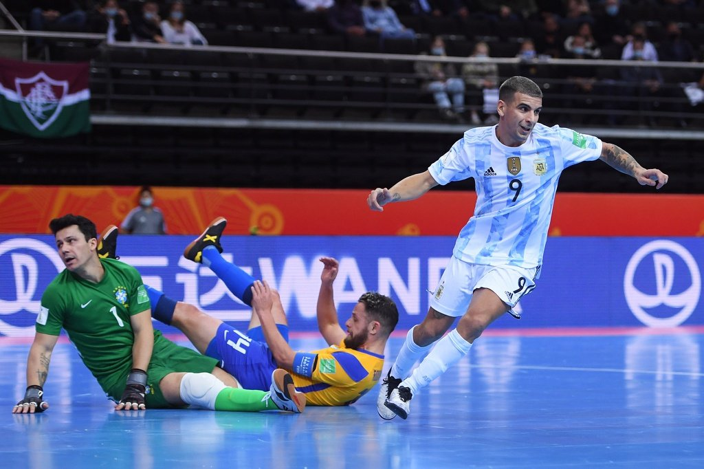 Futsal World Cup semi-finals: Argentina beat Brazil, 2nd time in a row to reach the final 2