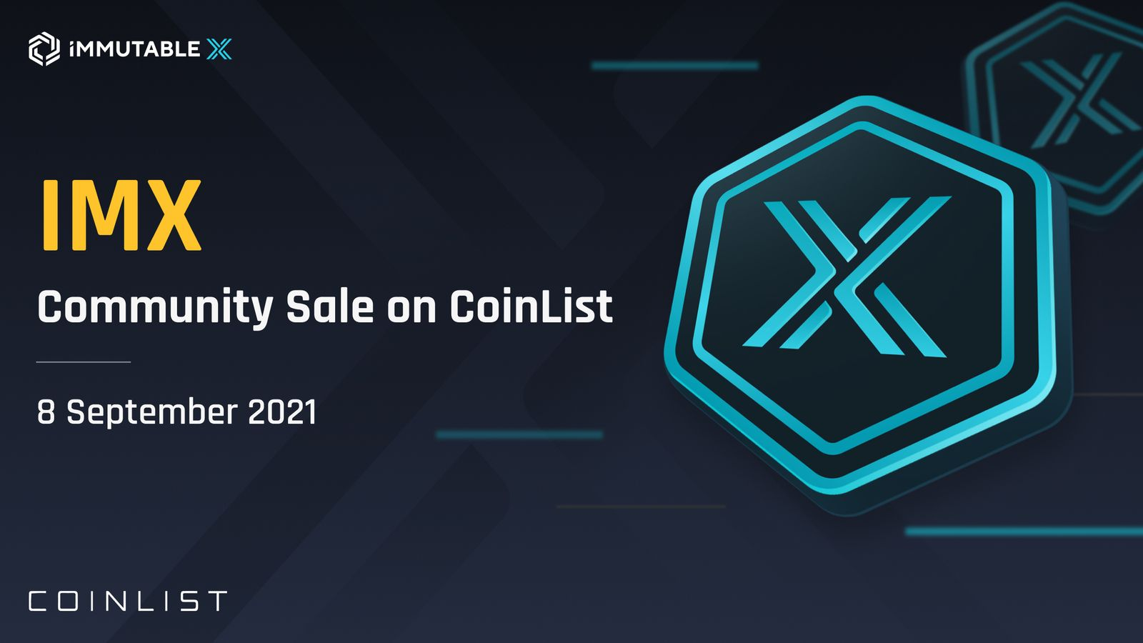 CoinList Announces ICO Sale of Immutable X Project September 9th
