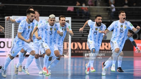 Futsal World Cup results: Argentina defeated Russia, faced Brazil in semi-final 1
