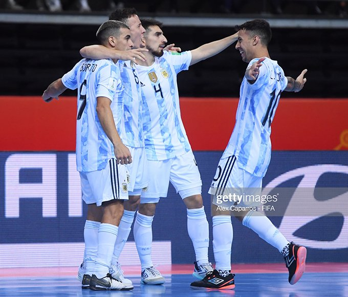 Futsal World Cup semi-finals: Argentina beat Brazil, 2nd time in a row to reach the final 1