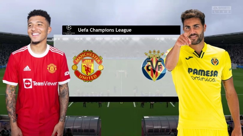 Link to watch live football Man Utd vs Villarreal (2h00, 30/9) Round 2 Champions League group stage 1