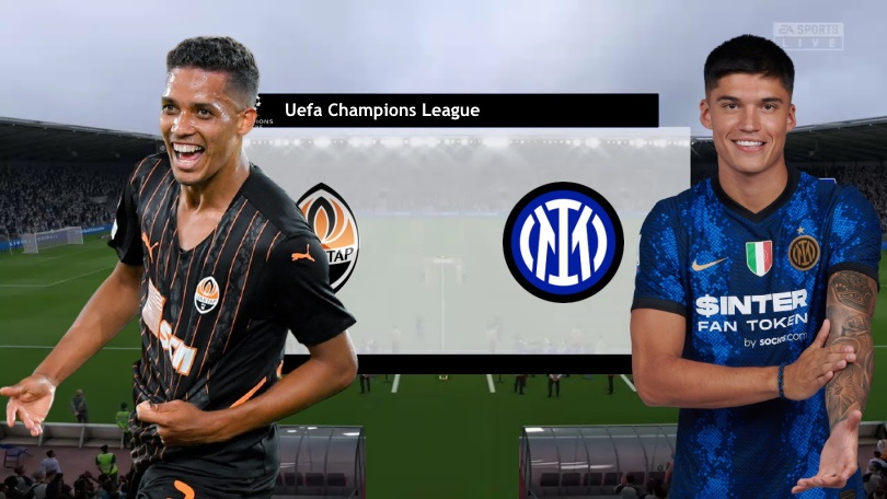 Link to watch live football Shakhtar vs Inter (23:45, September 28) Round 2 Champions League group stage 1