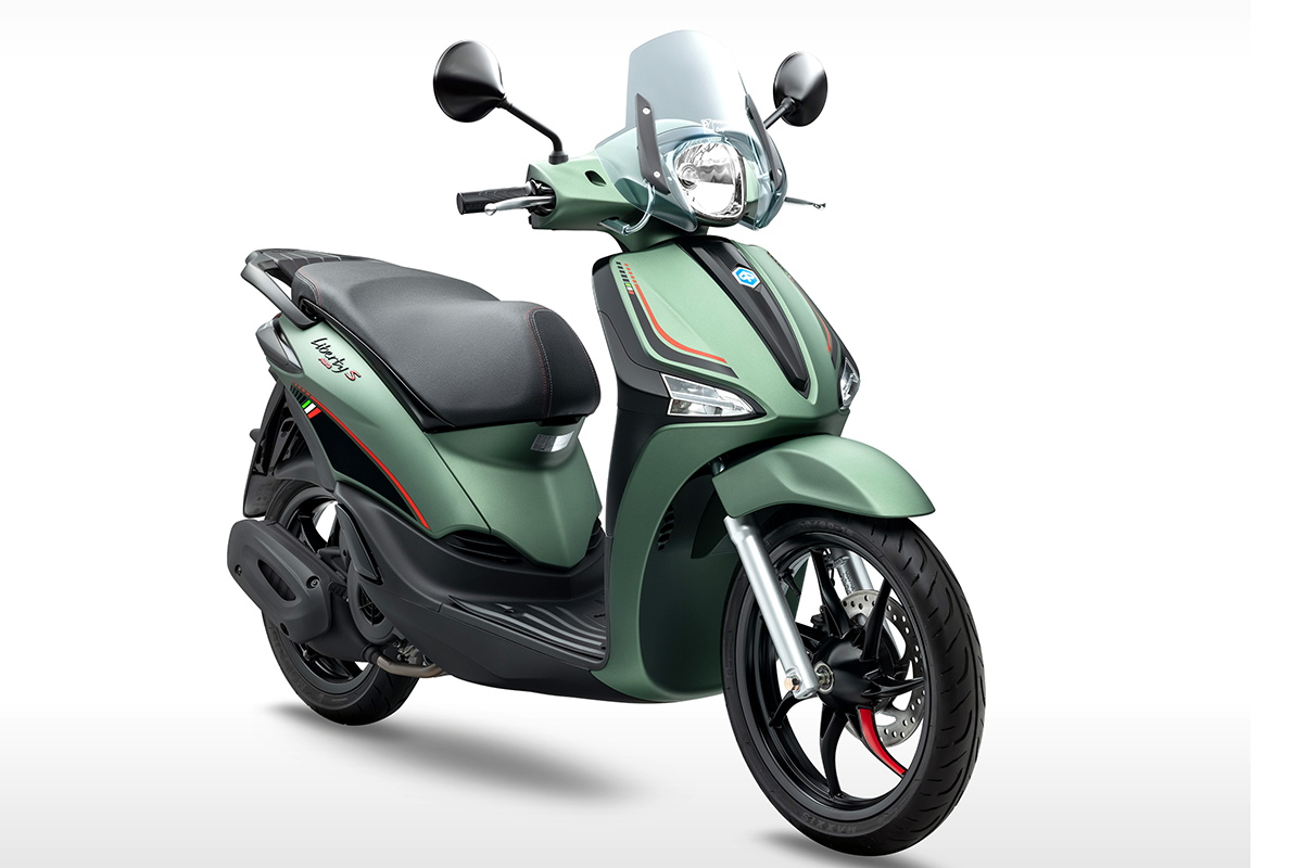 Piaggio Vietnam launched Liberty S 2021 special edition 1