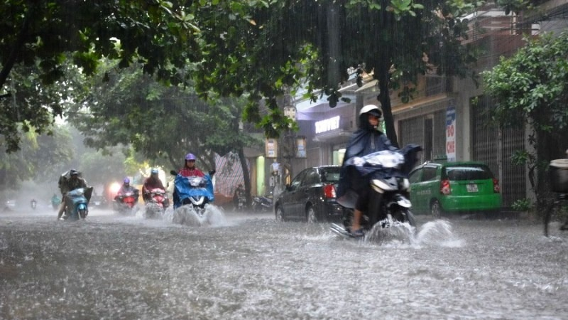 When will the heavy rain in the North and Central Vietnam stop?  first