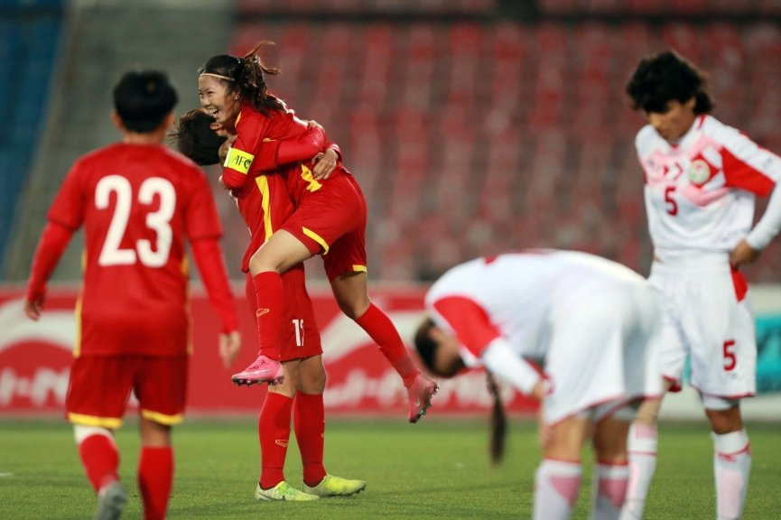 Great victory 7-0, Vietnam women's team set an amazing record, proudly winning tickets to the 2022 Asian Cup 1