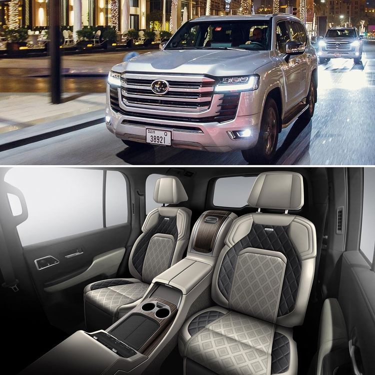 Toyota Land Cruiser MBS 2022 invites Vietnamese guests with a series of 2nd-class equipment