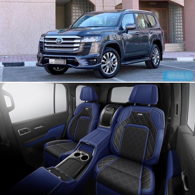 Toyota Land Cruiser MBS 2022 invites Vietnamese guests with a series of 3-class equipment