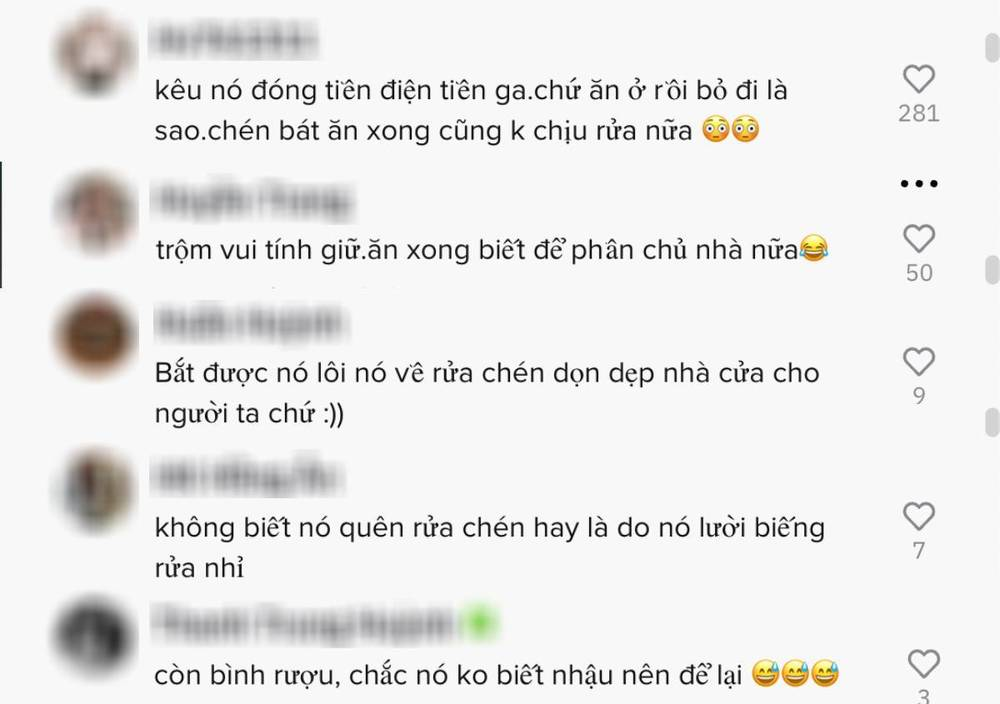 The owner went to avoid the epidemic, suddenly a 'hardworking' thief appeared, acting like 'Miss Tam' in the owner's house 3