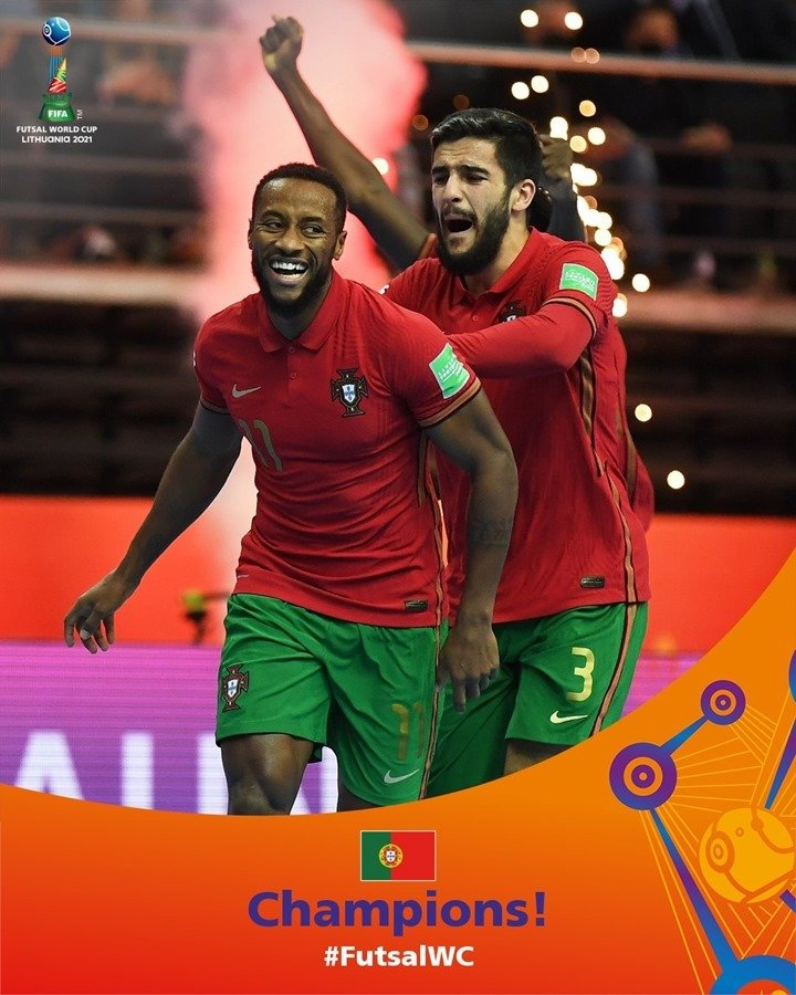 Futsal World Cup Final 2021: Portugal defeated defending champion Argentina, reaching the top of the world for the first time 2