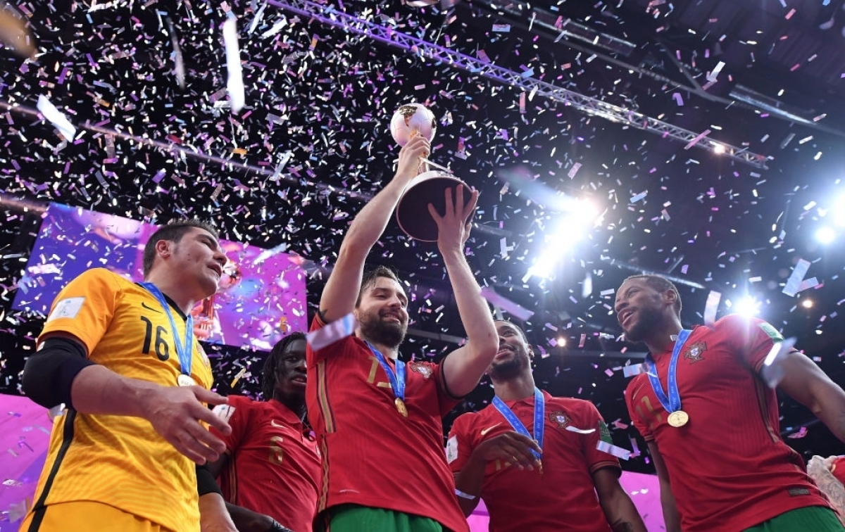 Futsal World Cup Final 2021: Portugal defeats defending champion Argentina, reaching the top of the world for the first time 3