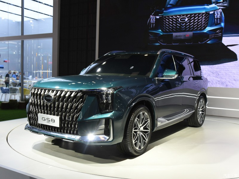Trumpchi GS8 2022 closes the price, challenging a series of top names in the large SUV segment 4
