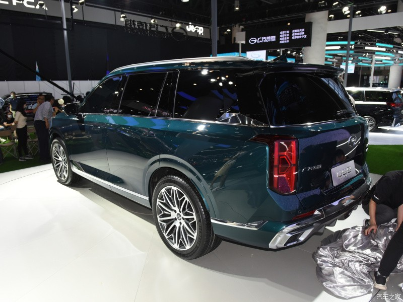 Trumpchi GS8 2022 closes the selling price, challenging a series of top names in the 5 . large SUV segment