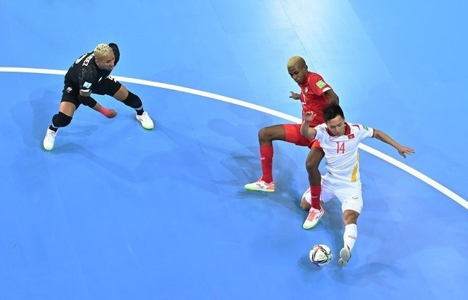 Vietnam's perfect solo goal was voted the most beautiful in the 2021 Futsal World Cup 2