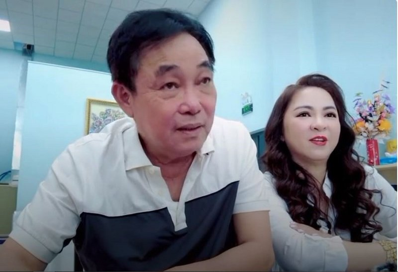 Ms. Phuong Hang directly asked Mr. Dung about the love story after wiretapping the phone 4