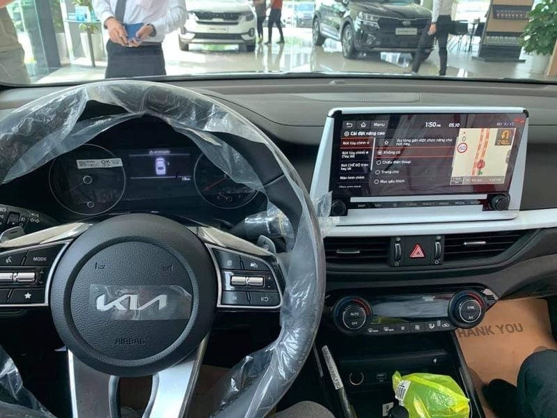 Close-up of Kia K3 present at the dealer, people riot because of a confusing detail 5