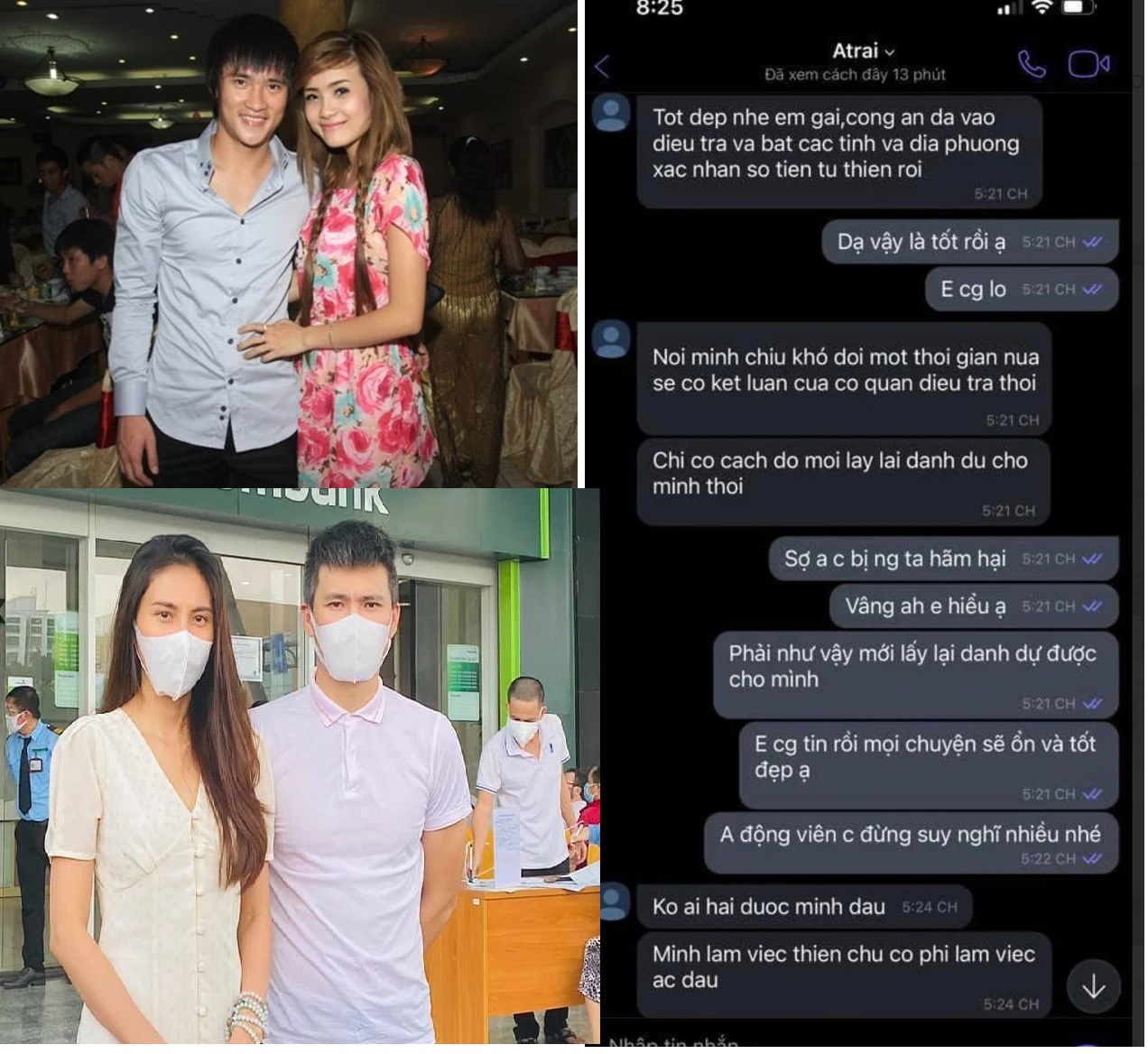 Hot news on October 9: Lawyer talked about Phuong Hang's 'statement dream';  Cong Vinh revealed the secret of charity money through text messages with his sister 4