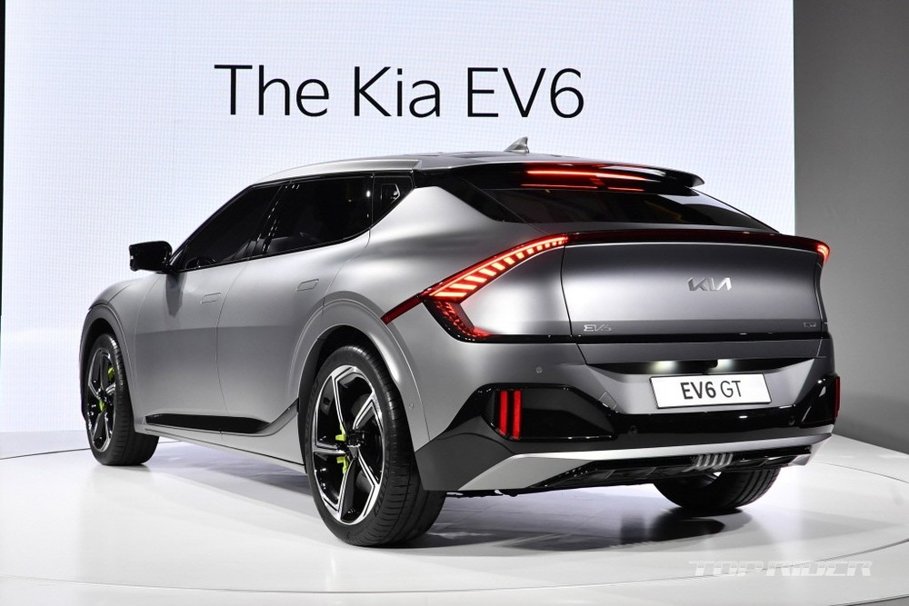 Preview Kia EV6 is about to be sold genuine in Vietnam, the flagship for a completely new trend 4