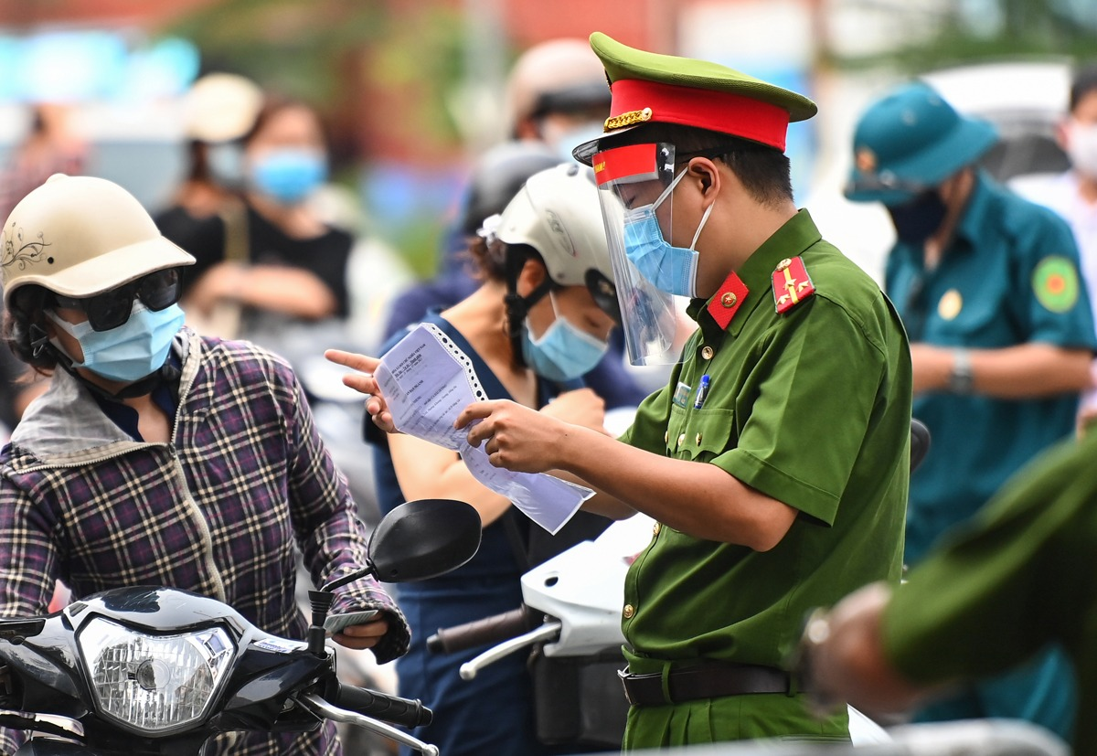 Ho Chi Minh City closes the travel plan between 4 neighboring provinces 2