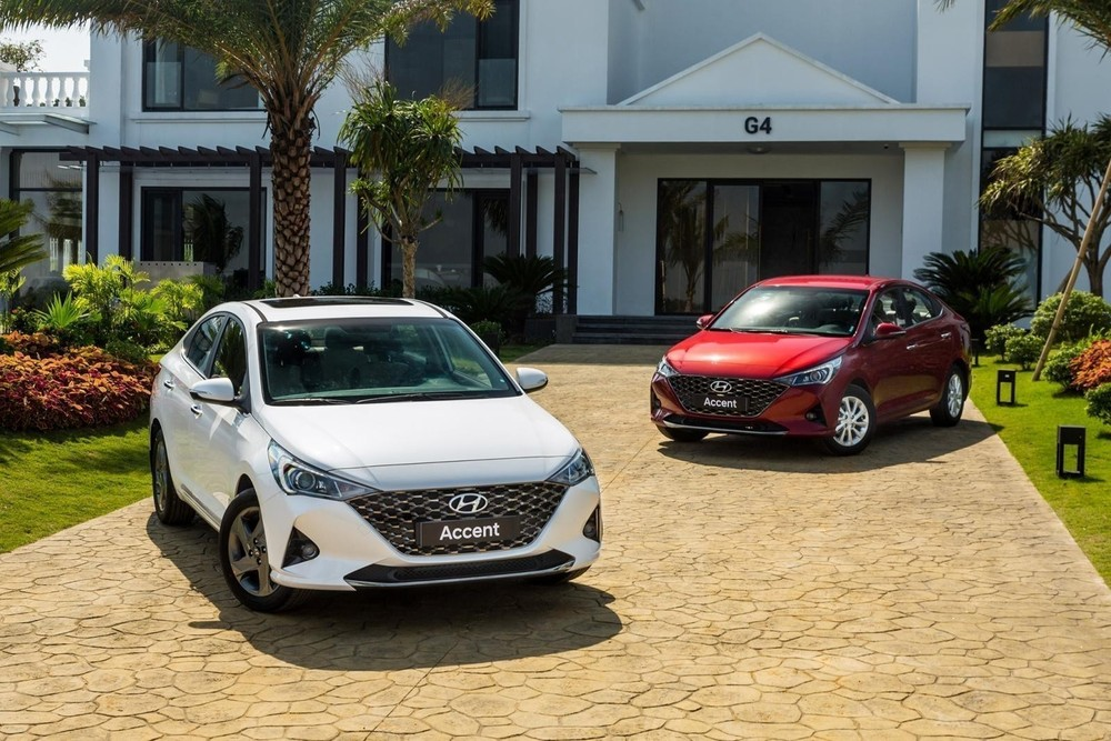Top 10 best-selling car models in September: VinFast Fadil, Hyundai Accent, Kia Seltos... the throne has not changed owners
