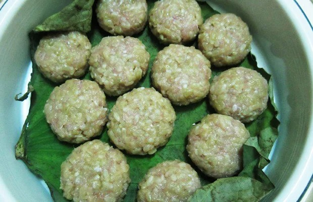 Only 30 minutes into the kitchen, there is a delicious fried rice cake, full of autumn flavor 4