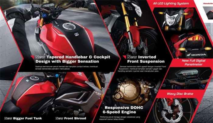 Following the Honda CBR 150R, the CB 150R naked bike is about to re-export to the Vietnamese market at an extremely attractive price 6