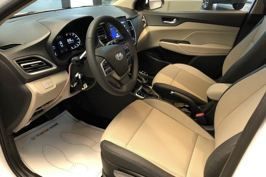 The latest price of Hyundai Accent in October 2021, the best-selling B-size sedan in Vietnam market 3