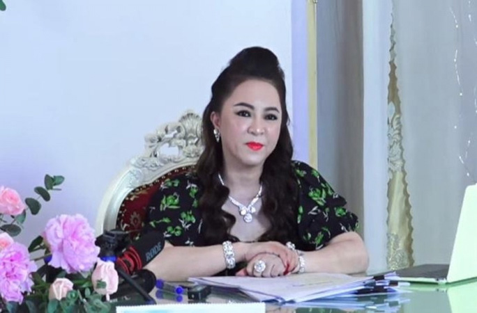 The police investigate the content of the denunciation of the artist of Mrs. Nguyen Phuong Hang 1