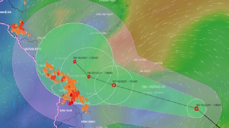 Central region prepares for storm surge, record rainfall can reach 600mm 1