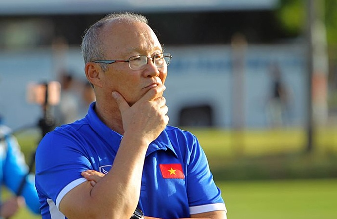 Coach Park countered the statement of election Hien, being cautious before Oman 1