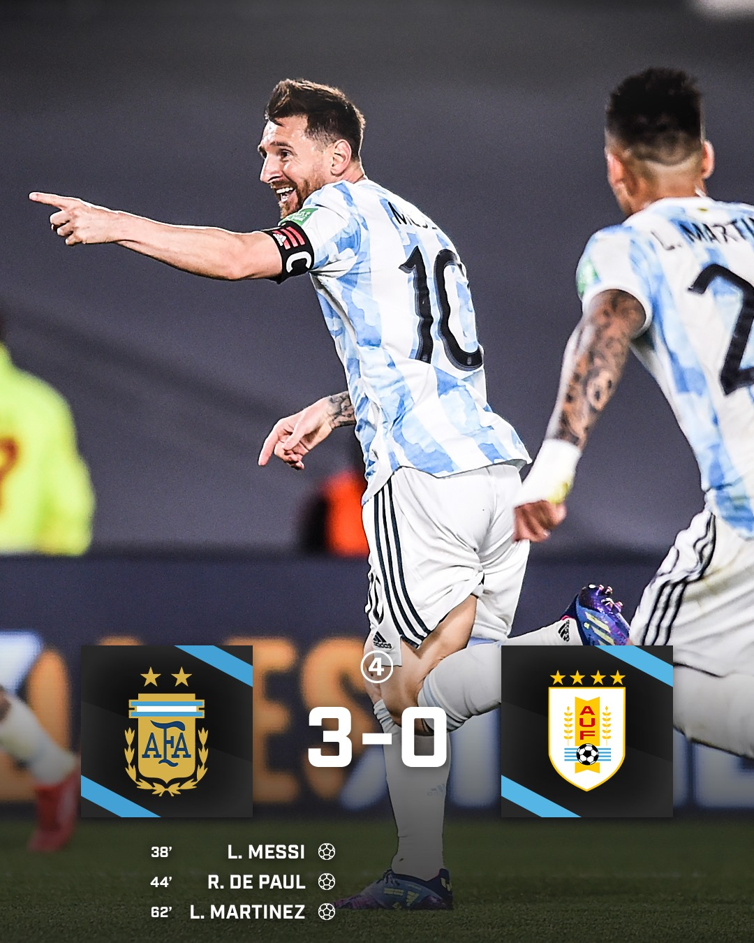 Comments Argentina vs Peru (6h30, 15/10) World Cup qualifiers: Difficult to stop the king of South America 1