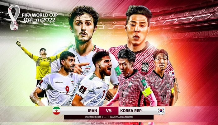 Comments on Iran vs Korea (20:30, 12/10) World Cup 2022 qualifiers: History against the host 1