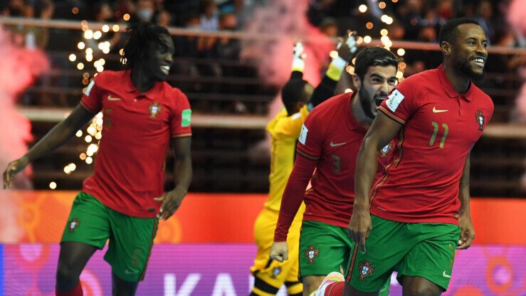 Futsal World Cup Final 2021: Portugal defeated defending champion Argentina, reaching the top of the world for the first time