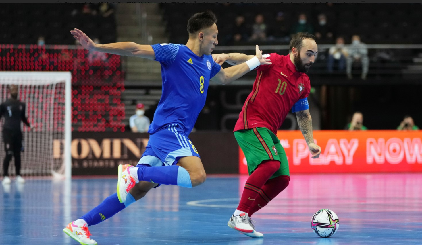 Futsal World Cup semi-final results: Portugal defeated Kazakhstan, promised to 'revenge' Argentina in the final 1