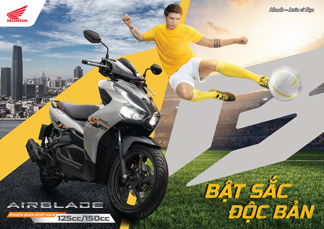 Honda Vietnam introduces AirBlade limited edition, priced from 42 million VND 1