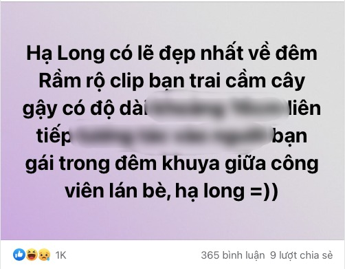 Late night clip of the Ha Long couple: Fans eagerly ask for the link, dotted the offensive 1