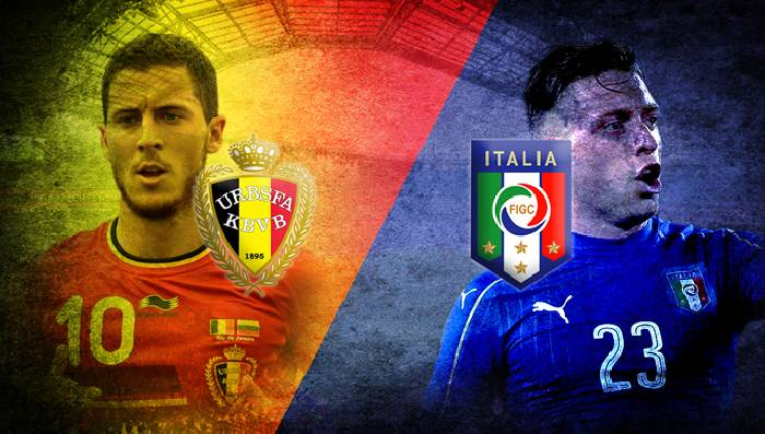 Link to watch live football Italy vs Belgium (20h00, 10/10) for third place in UEFA Nations League 1
