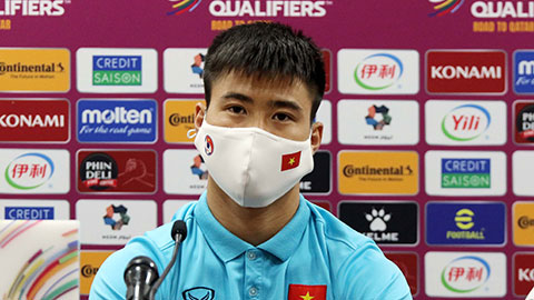 Midfielder Do Duy Manh: 'China is really strong, but has weaknesses' 1