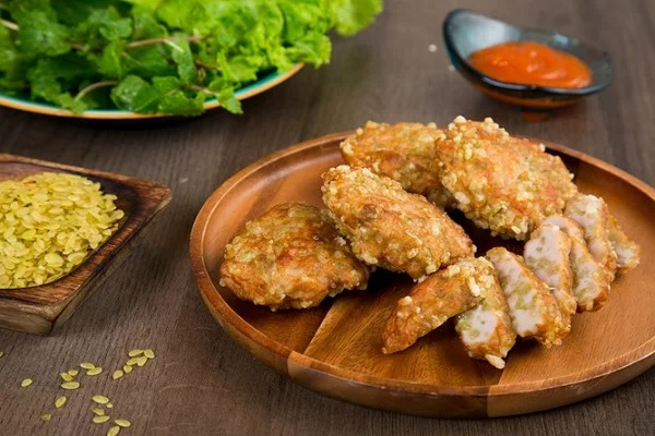 Only 30 minutes into the kitchen, there is a delicious fried rice cake, full of autumn flavor 1