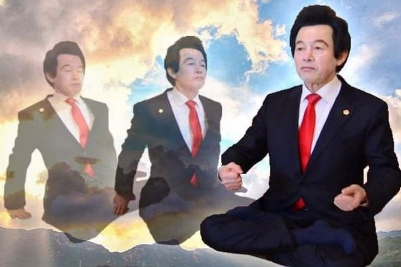 Portrait of a presidential candidate possessing an IQ of 430, a supernatural and extremely strange ability of Korea 1