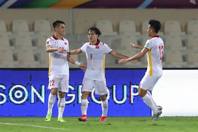 Scored against China, Tien Linh became Vietnam's record holder in World Cup 1 qualifying