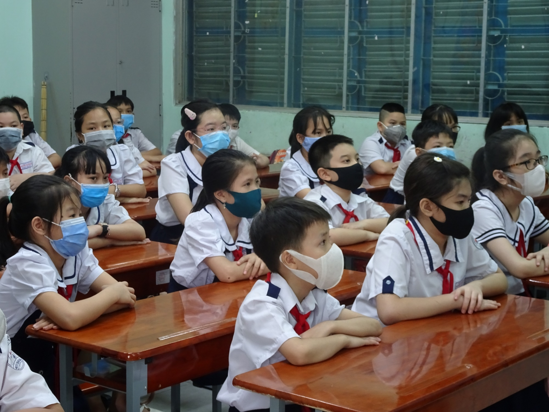 HCMC students can come to class from January 2022 1